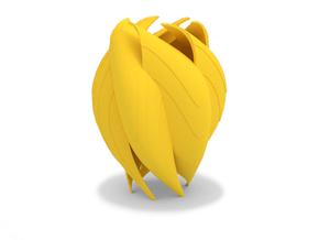 COROLLA Vase in Yellow Strong & Flexible Polished