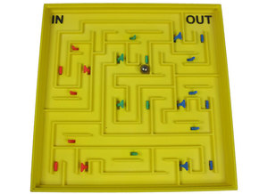 Switched Maze in White Natural Versatile Plastic