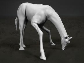 Giraffe 1:12 Drinking Male in White Strong & Flexible