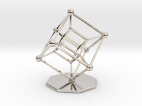 Hypercube in Platinum