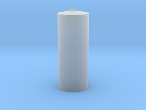 """'N Scale' - 12' Diameter x 31'-9"""" Tall Tank in Smooth Fine Detail Plastic"""