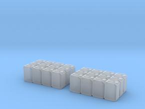 Blaue Kanister für Paletten 2Stück in Smooth Fine Detail Plastic