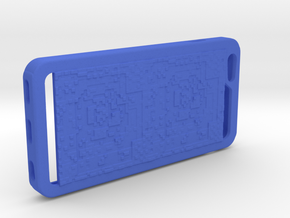 8bit era iPhone6+ case in Blue Processed Versatile Plastic