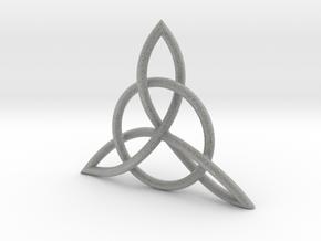 Triad Knot in Metallic Plastic