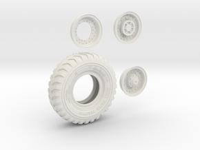 1-16 Britsh Tire 14 00x20 00 in White Natural Versatile Plastic