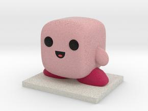 Kirby Figure in Full Color Sandstone