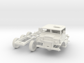 Chevrolet CMP C15 Log Jinker(1:18 Scale) in White Natural Versatile Plastic