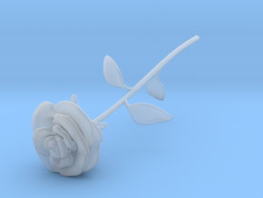 Rose in Smooth Fine Detail Plastic