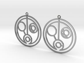 Helen - Earrings - Series 1 in Premium Silver