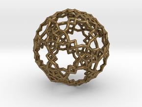 Sphere-132 in Natural Bronze