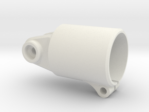 Bearing-mount-XS in White Natural Versatile Plastic