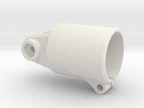 Bearing-mount-XS in White Natural Versatile Plastic