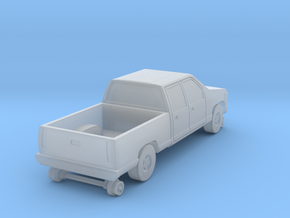 MOW Crewcab Pickup - Nscale in Smooth Fine Detail Plastic