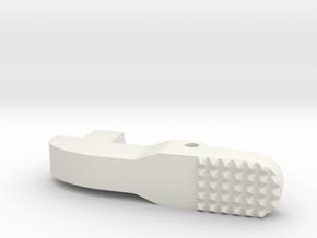 Airsoft G36 Magazine Adapter Catch Enhanced-Ver in White Natural Versatile Plastic