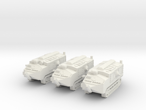 1/144 Schneider CA-1 tank (3) in White Strong & Flexible