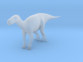 Miniature Dinosaur (2cm Height and 6 cm length)  in Smooth Fine Detail Plastic