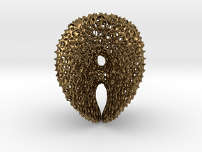 Chen-GackstatterMinimal Surface with Voronoi Cells in Natural Bronze