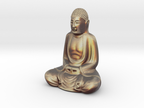 Textured Buddha: dawn sky. in Full Color Sandstone