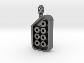 NES Hers Controller Pendant in Polished Nickel Steel