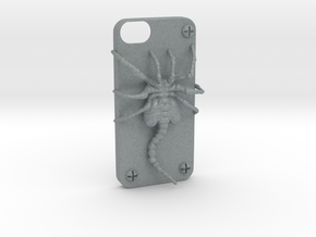 Iphone 5 Casehugger   in Polished Metallic Plastic