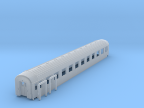 DSB B car TT Scale in Smooth Fine Detail Plastic