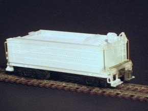 Pennsylvania H9 2-8-0 tender in N scale with Z sc in Smooth Fine Detail Plastic