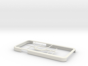 Oslo Metro map iPhone 6 case in White Strong & Flexible