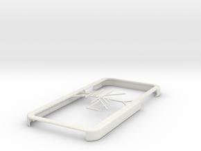 Melbourne Metro Trains map iPhone 6 case in White Natural Versatile Plastic