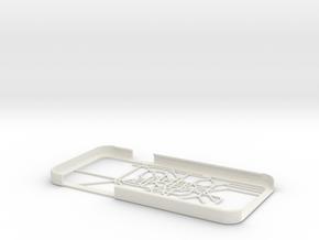 Berlin S-Bahn/U-Bahn map iPhone 6 case in White Strong & Flexible