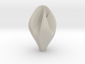 Vase blossom 01 in Natural Sandstone