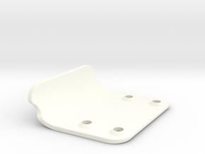 Bumper 2.0 for RC10T nose in White Processed Versatile Plastic