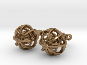 Ball In Balls CL X2 in Natural Brass