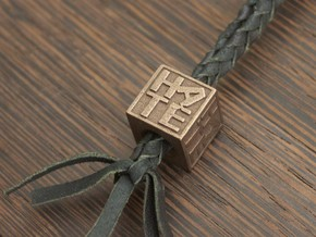 The Hate Project: BEAD in Matte Bronze Steel