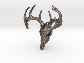 buck in Polished Bronzed Silver Steel