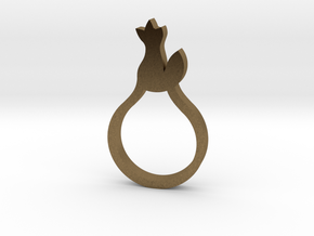 BEAU Ring in Natural Bronze