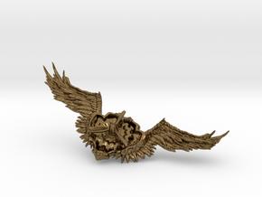 Wings badge in Natural Bronze