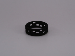 The Dots - Ring  - size54 - diam17,2mm in White Natural Versatile Plastic