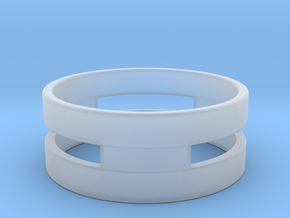 Ring g3 Size 8 - 18.19mm in Smooth Fine Detail Plastic