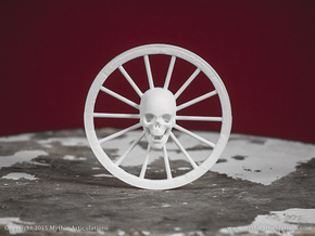 Wanyudo Skeleton in White Natural Versatile Plastic