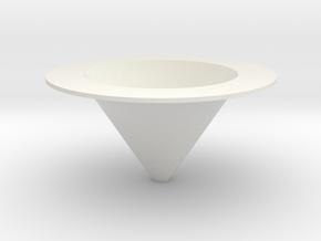 Flytrap in White Natural Versatile Plastic