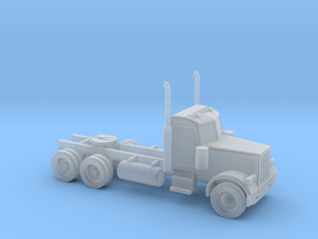 Peterbilt 379 Daycab - Nscale in Smooth Fine Detail Plastic