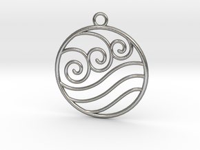 Avatar the Last Airbender: Water  in Natural Silver