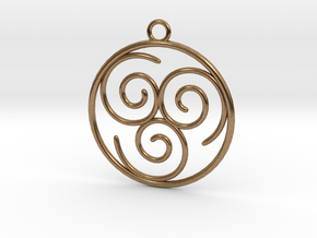 Avatar the Last Airbender: Air in Natural Brass