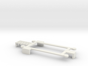 Iphone 5 Cradle 8 in White Natural Versatile Plastic