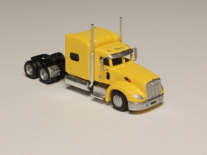 1:160 N Scale Peterbilt 386 Semi Tractor in Smooth Fine Detail Plastic