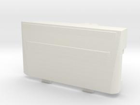 Game Boy Micro Battery Door in White Natural Versatile Plastic