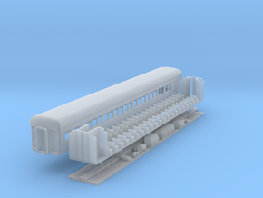 N-Scale (1/160) PRR P70fR Passenger Car rebuild in Frosted Ultra Detail