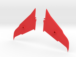 Transformers Seeker Rapier Wing Kit in Red Strong & Flexible Polished