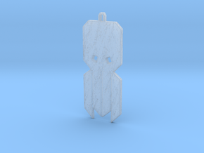 Cthulhu Tribal Amulet in Smooth Fine Detail Plastic
