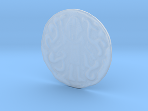 Nyarlathotep Coin in Smooth Fine Detail Plastic